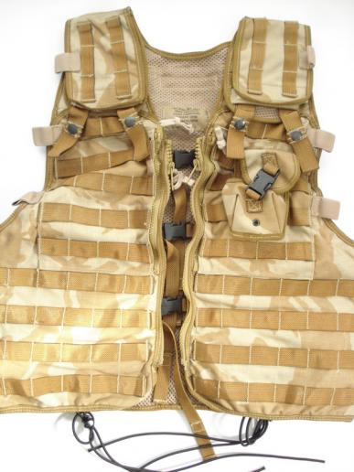British Tactical Load Carrying Vest & Grenade Pouch